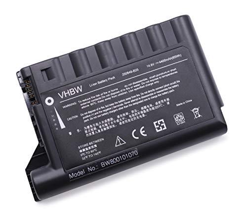Batterie LI-ION 4400mAh 14.8V Noir Compatible pour HP Compaq remplace 229783-001, 232633-001, 250848-B25