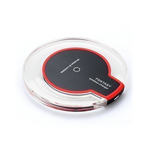 Caricabatterie Wireless Pad Caricatore Qi Wireless a...