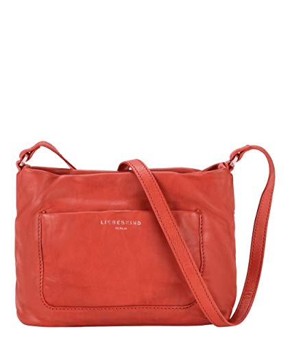 Liebeskind Berlin Umhängetasche, Ever Crossbody, Medium, poppy red