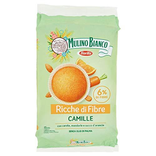 Mulino Bianco Merendine Camille, Snack Dolce per la Merenda - 8 Camille