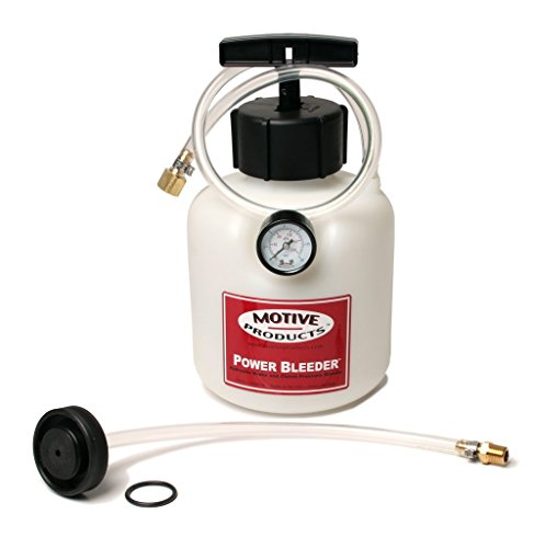 Motive Products 0107 Power Pressure Brake and Clutch Bleeder For Ford and Asian Cars and Trucks