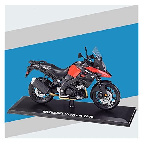 El Maquetas Coche Motocross Fantastico Modelo Motocicleta De Aleación Simulación 1:12 En Miniatura Para Suzuki Suzuki V-Strom, Coche De Juguete Regalo Coleccionable Para Adultos Regalos Juegos Mas Ven