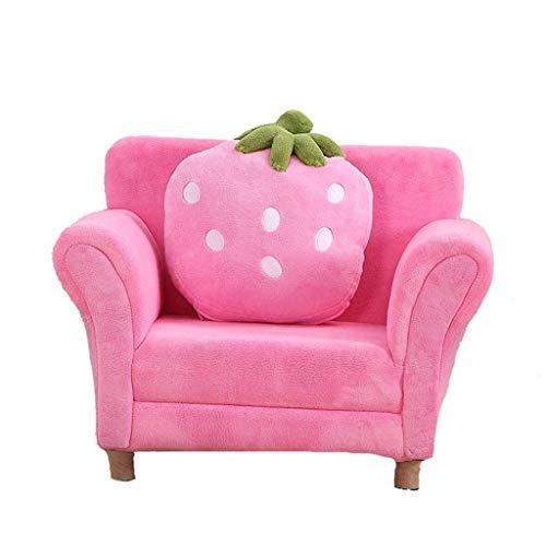 RTSFKFS Sillones para niños Sofá niños, Acolchado sofá Linda atmósfera de Moda Infantil for niños, 26.4 Pulgadas sofá Mobiliario Infantil (Color : B)