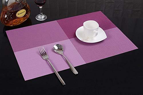 Ari_Mao Cojín de Aislamiento térmico de múltiples Funciones del retrete del hogar del Hotel del PVC Coaster Cuadrado 45 * 30cm