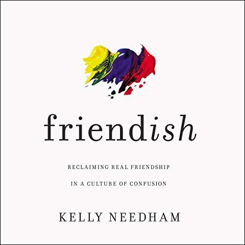 Friend-ish audiobook cover art