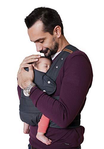 Marsupi Classic - Mochila portabebés para recién nacido (algodón orgánico,...