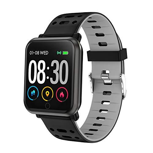 Fierro Smartwatch Reloj Inteligente, Android y iPhone, Llamadas y WhatsApp