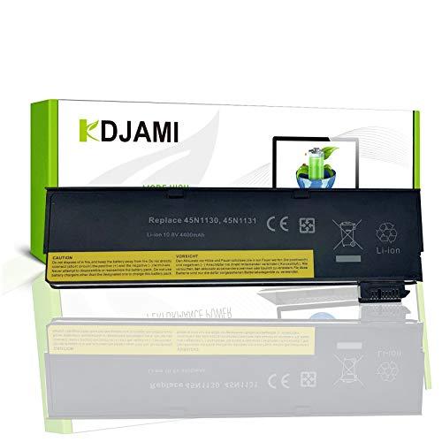 KDJAMI - Batteria per laptop Lenovo ThinkPad T440 T440s T450 T450s T460 T460p T470p T550 T560 X240 X250 X260 X270 W550 W550s L450 L460 L470 P50s 45N1126 45N1127 (10,8 V 4400 mAh)