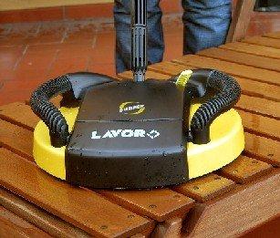 Lavor - Lavasuperfici Surfer per patii e vialetti d'ingresso, accessori di fissaggio Karcher inclusi