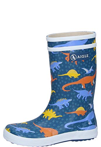 Aigle Kinder Gummistiefel Lolly Pop Kid Dino, 35