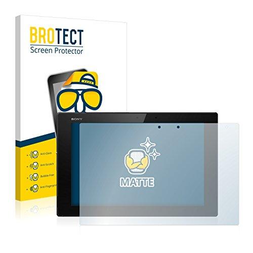 BROTECT 2X Entspiegelungs-Schutzfolie kompatibel mit Sony Xperia Z2 Tablet Bildschirmschutz-Folie Matt, Anti-Reflex, Anti-Fingerprint