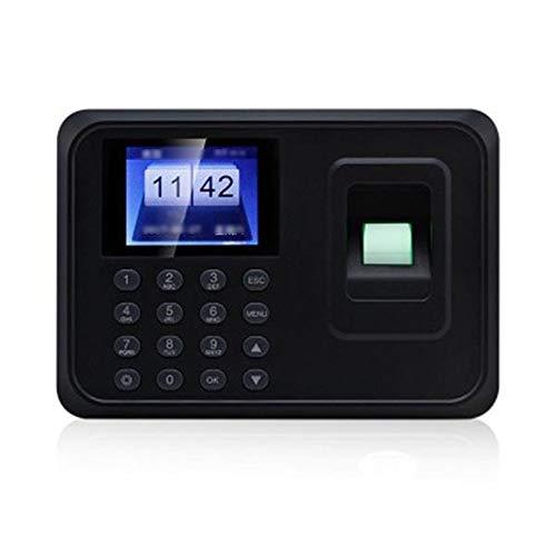 Zeiterfassungsgerät Fingerabdruck-Anwesenheits-Maschine Fingerabdruck-Code Eintritt Anwesenheits-Maschine Mitarbeiter Check-in Recorder Schwarz Die Teilnahme Recorder-Maschinen