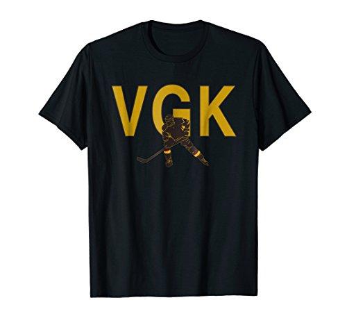 VGK Ice Hockey Golden Player Fan T Shirt