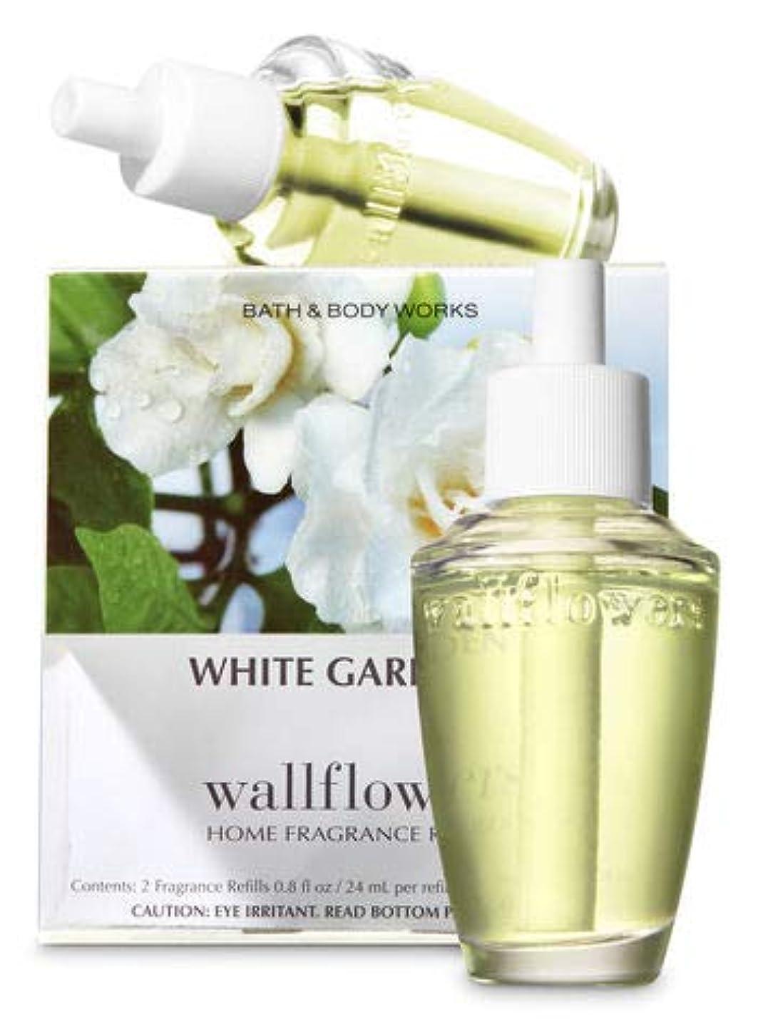 有名著作権反動【Bath&Body Works/バス&ボディワークス】 ルームフレグランス 詰替えリフィル(2個入り) ホワイトガーデニア Wallflowers Home Fragrance 2-Pack Refills White Gardenia [並行輸入品]