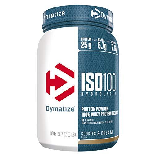 Dymatize ISO 100 Cookies&Cream 900g - Whey Protein Hydrolysat + Isolat Powder