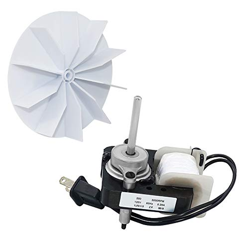 AMI PARTS SM550 Universal Bathroom Vent Fan Motor Complete Kit Electric Motors Kit Compatible with Nutone Broan 50CFM 120V