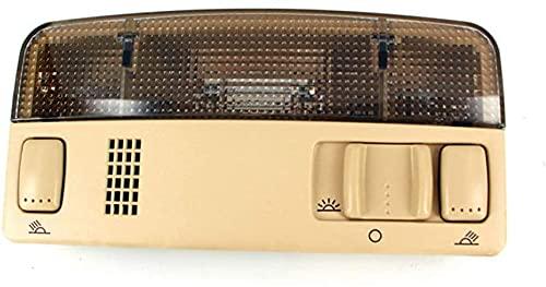 DNKKQ Sentirse cómodo Auto Techo Techo Luces De Techo Lámpara De Cúpula De Lectura Interior/Ajuste para - Passat / B5 Golf 4 MK4 (Colore: Gris) Mano de Obra Fina (Size : Beige)