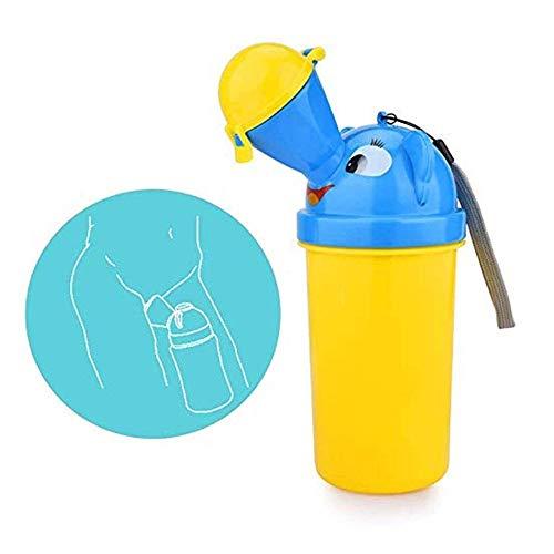 WCJ Tragbare Baby-Kind-Kinder-Reise Potty Hygienic Leak Proof Pissoir Nottoilette for Camping, Reisen mit dem Pkw, Außerhalb, Park und Kid Kleinkind Potty Pee Training