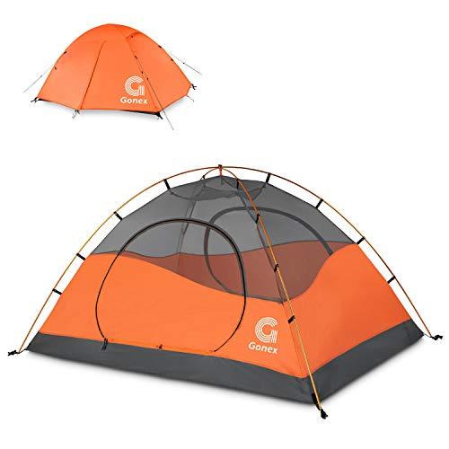 Gonex Tente de Camping 2 Personnes 3 Saisons Dôme...