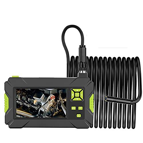 QAZXCV Endoscopio Industriale 8Mm Palmare Borescope Borescope 4.3 Pollici Telecamera LCD Monitor 1080P HD Video ISPEZIONE Videocamera Endoscopio Impermeabile Telecamera Flessibile Serpente,3M
