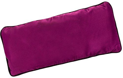 Yoga Eye Pillow - Lavender and Flax Seed Aromatherapy Eye Mask for Meditation and Stress Relief by LISH (Purple)