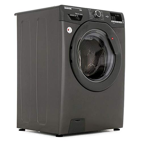 Hoover DHL14102DR3R1 Link 10kg 1400rpm Freesanding Washing Machine With One Touch - Graphite