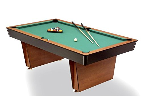Mesa de billar Lugano Pool 6 ft. – Muy Resistente.: Amazon.es ...