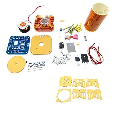 ETSK Mini-Tesla-Spule, Plasma-Lautsprecher, Elektronik-Bausatz, Musikspiel, DIY-Spielzeugmodell