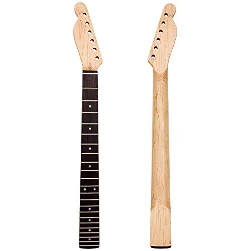 kmsie zurdos guitarra cuello para Fender Tele de repuesto, Natural ...