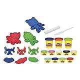 Play-Doh- PJ Masks - Juego de amasadora de héroes, Color (Hasbro F1805)