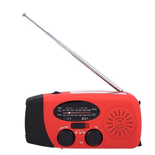 Mugast Solar Radio,Tragbar 3 in 1 AM/FM/NOAA...