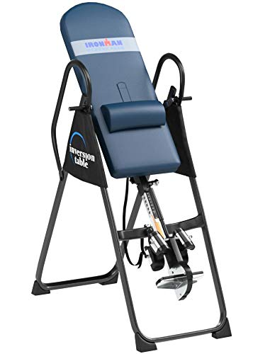 Product Image 12: IRONMAN Gravity Highest Weight Capacity Inversion Table with Optional No Pinch AIRSOFT Ankle Holder, (l x w x h):49.00 x 26.00 x 65.00 in, 5402