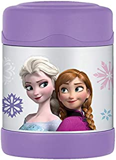 Frozen Anna & Elsa Olaf Thermos Funtainer 10oz Hot/Cold Kid's Food Jar Container