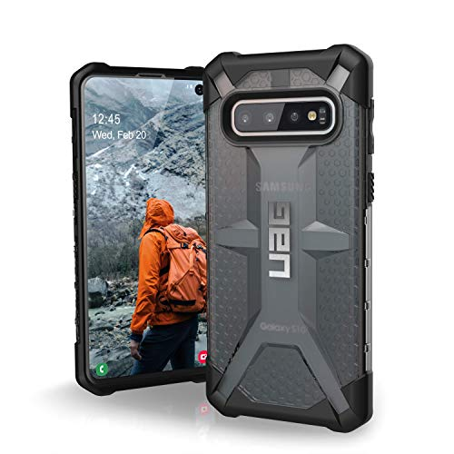URBAN ARMOR GEAR UAG Designed for Samsung Galaxy S10 [6.1-inch Screen] Plasma [Ash] Military Drop Tested Phone Case
