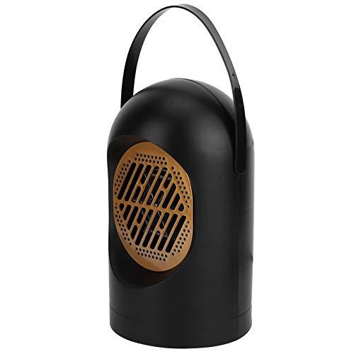 Blantye 50  Calentador de Ventilador eléctrico de Escritorio portátil de Temperatura Constante. Mini Equipo de calefacción para el hogar (Conector Negro de la UE 220V)