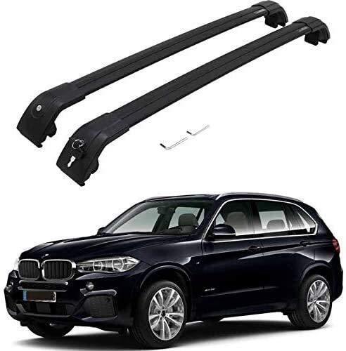 Estante De Techo, Compatible Con Automóviles 2014-2018 BMW X5 F15, Material De Aleación De Aluminio, Con Bloqueo, Adecuado Para Viajar, Ahorro De Volumen De Automóviles