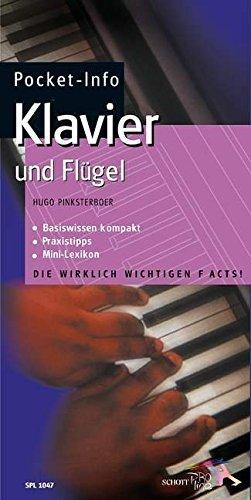 Pocket-Info, Klavier und Flügel by Hugo Pinksterboer (2001-11-06)