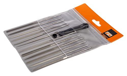 SnapOn 2-472-14-2-0 Bahco Needle File Set, 12-Piece