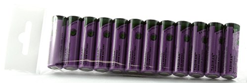 Batterie lithium tadiran inorganic sL aA - 760 s-typ en lot de 12 pièces