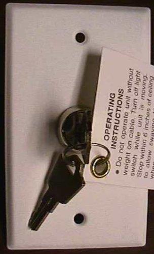 Replacement Standard Keyswitch Controller -  Aladdin Light Lift, JM-5345066