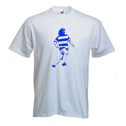 Stan Bowles de QPR FC T-Shirt Football (3XL)