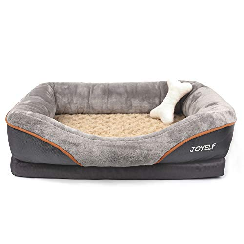 JOYELF Large Memory Foam Dog Bed