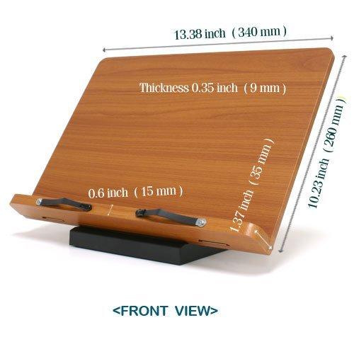Wiztem Clover Book Stand (Bookstand / Bookstands / Holder / Cookbook / Music) by BestBookStand
