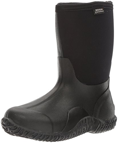 Bogs Women's Classic Mid Waterproof Insulated Boot,Black,9 M US