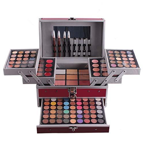 LAEMALLS 132 Colores Juego de Maquillaje, Profesional Cosmético paleta de sombra de...