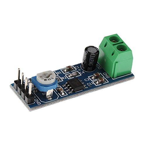 Gazechimp Lm386 Mini Verstärker Powered Stereo Audio-Verstärker Amplifier Module DIY AMP Board Electronic Amplifier Modul Für Raspberry Pi Arduino