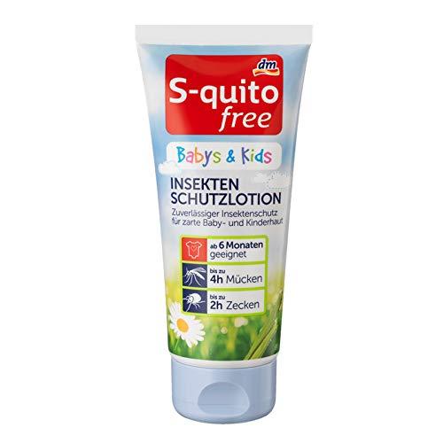 bester Test von s quito free S-Kito-freie Insektenschutzlotion für Säuglinge, Unisex, 100 ml