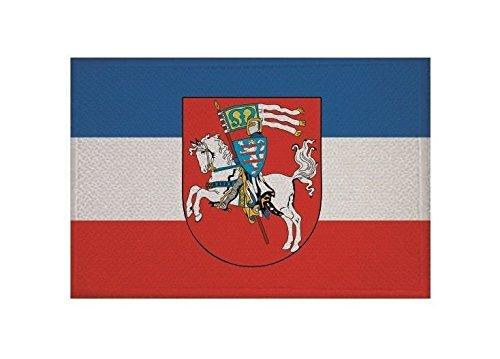 U24 Aufnäher Marburg Fahne Flagge Aufbügler Patch 9 x 6 cm