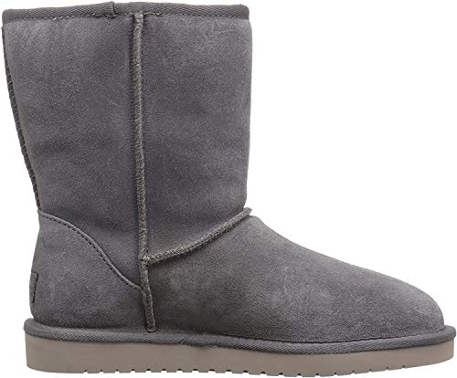 KOOLABURRA BY UGG Damen W KOOLA Short Hohe Stiefel, Grau (Rabbit Rbbt), 38 EU