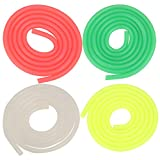 Drfeify 1/10 Universal Silicone Fuel Line Tube Pipe 3x5mm Upgrade Part Se Compatible para RC Gasoline Car Model